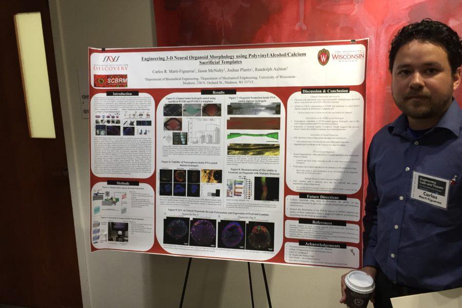 Carlos presenting at SCS