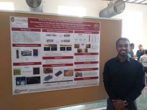 Pranav Gadangi presenting his summer research!